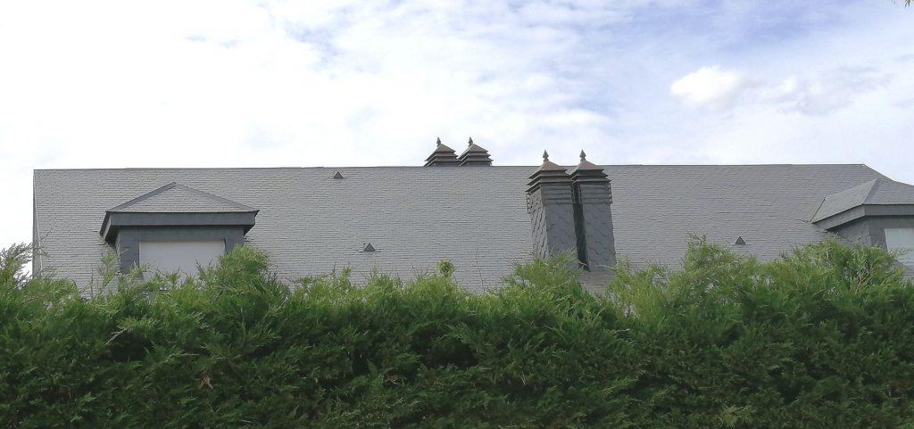 Reparación tejado pizarra